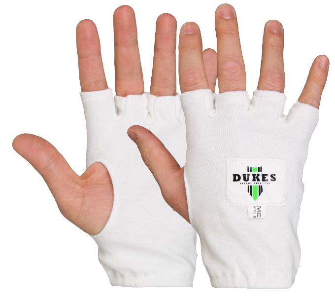Dukes Fingerless Cricket Batting Inner Gloves - JUNIOR