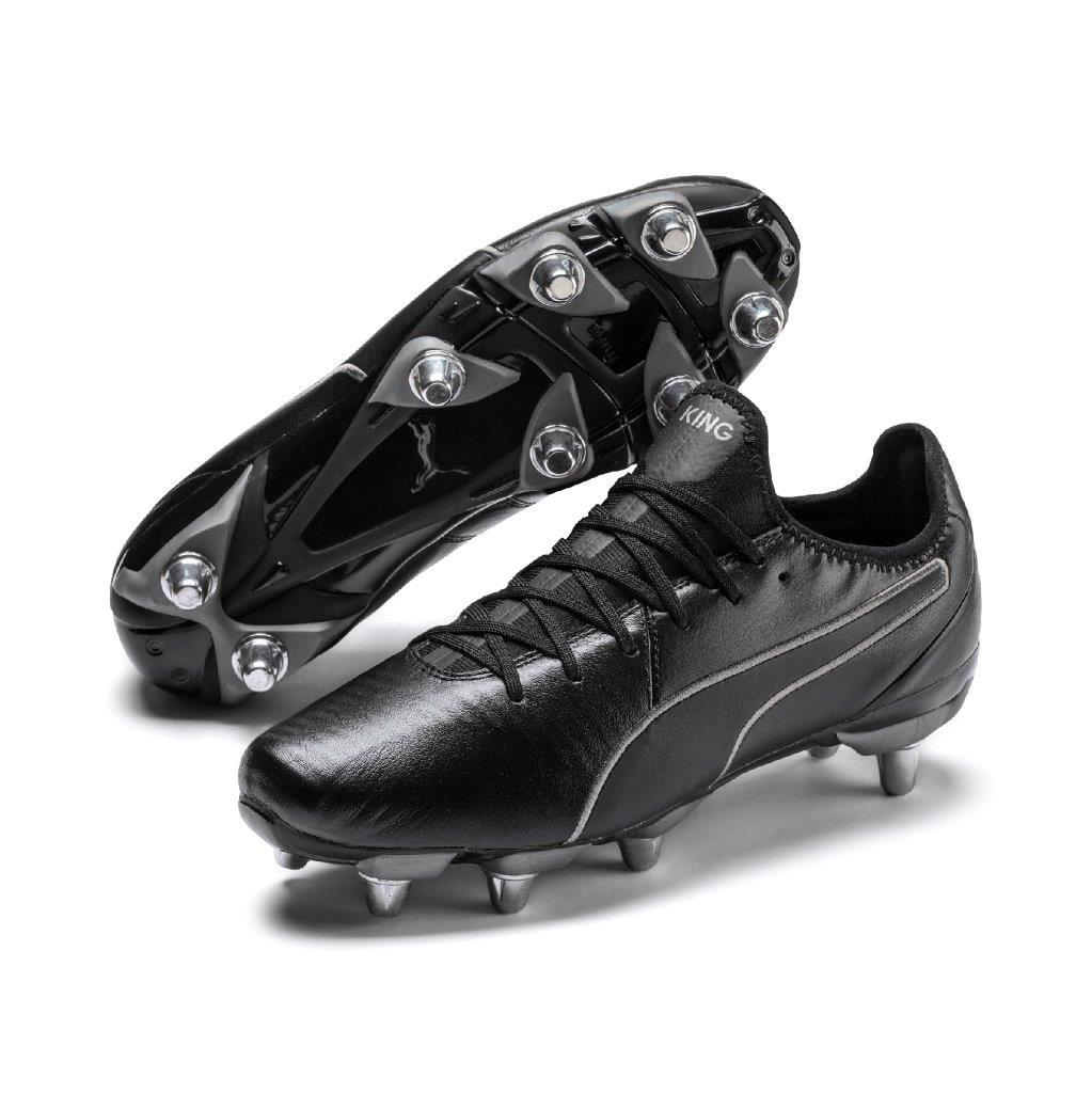 Puma KING PRO Rugby H8 Boots BLACK