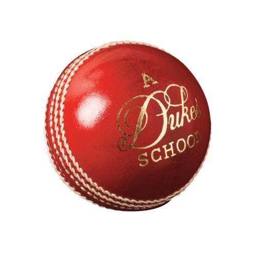 Dukes School Cricket Ball JUNIOR RED