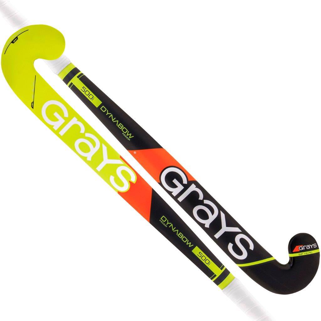 Grays 500i Dynabow Micro INDOOR Wooden Hockey Stick