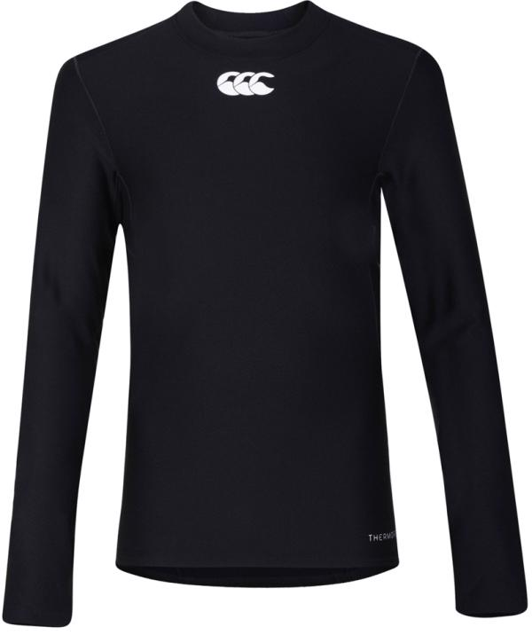 Canterbury Thermoreg Baselayer L/S Top BLACK JUNIOR