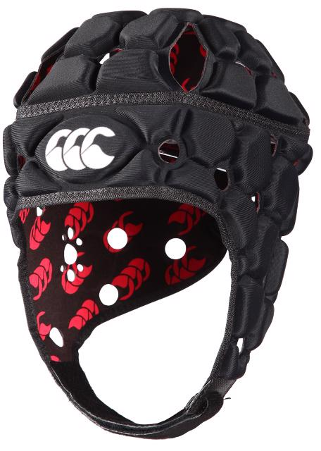 Canterbury Ventilator Rugby Headguard BLACK