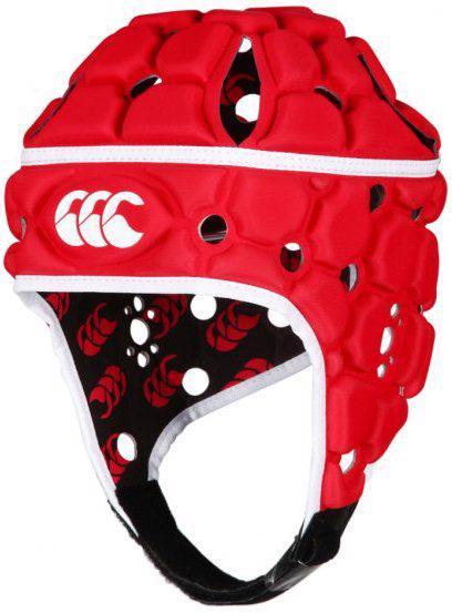 Canterbury Ventilator Headguard, RED