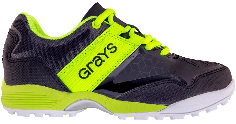 Grays Flash Hockey Shoes BLACK, JUNIOR