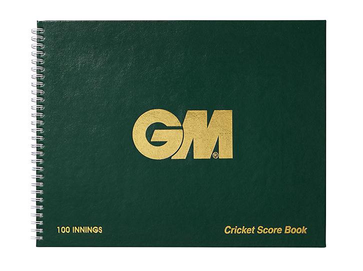 Gunn & Moore 100 Innings Wire Bound Cricket Scorebook
