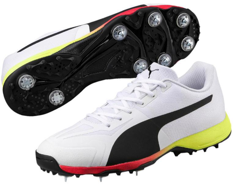 Puma evoSPEED 18.1 Cricket Spike WHITE