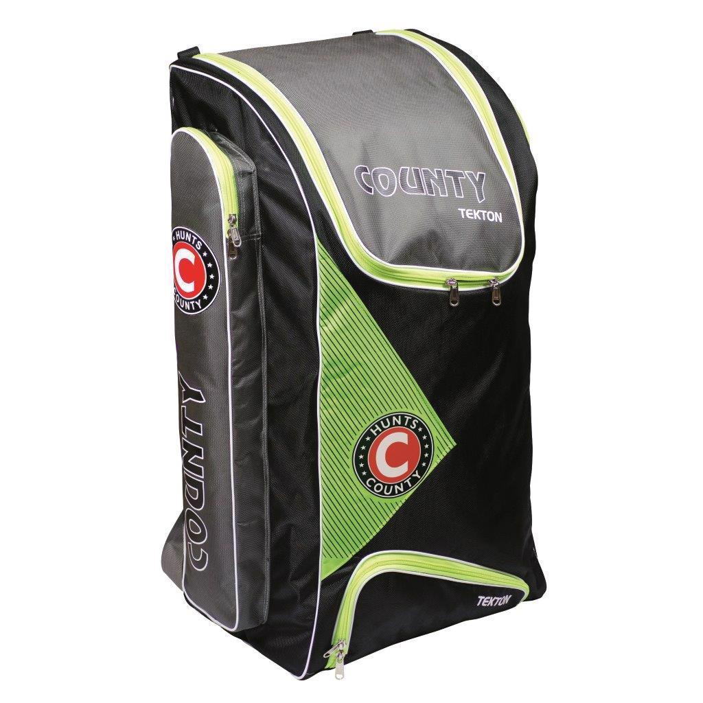Hunts County Tekton Cricket Duffle Bag BLACK/GREEN