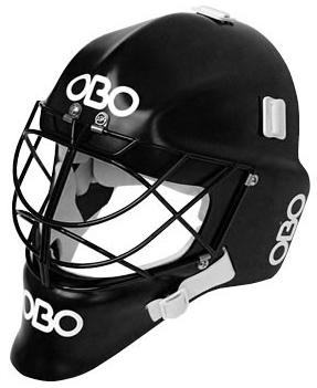 Obo PE Hockey GK Helmet BLACK