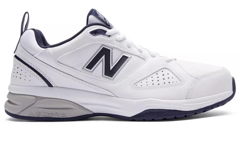 New Balance 624v4 Training Shoes WHITE