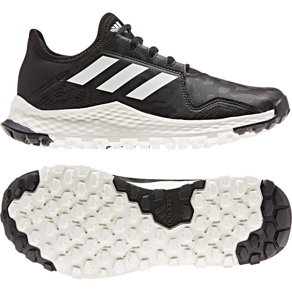 adidas Hockey YOUNGSTAR Shoes JUNIOR, BLACK
