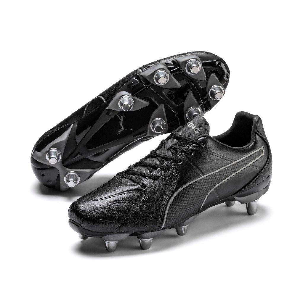 Puma KING HERO Rugby H8 Rugby Boots BLACK