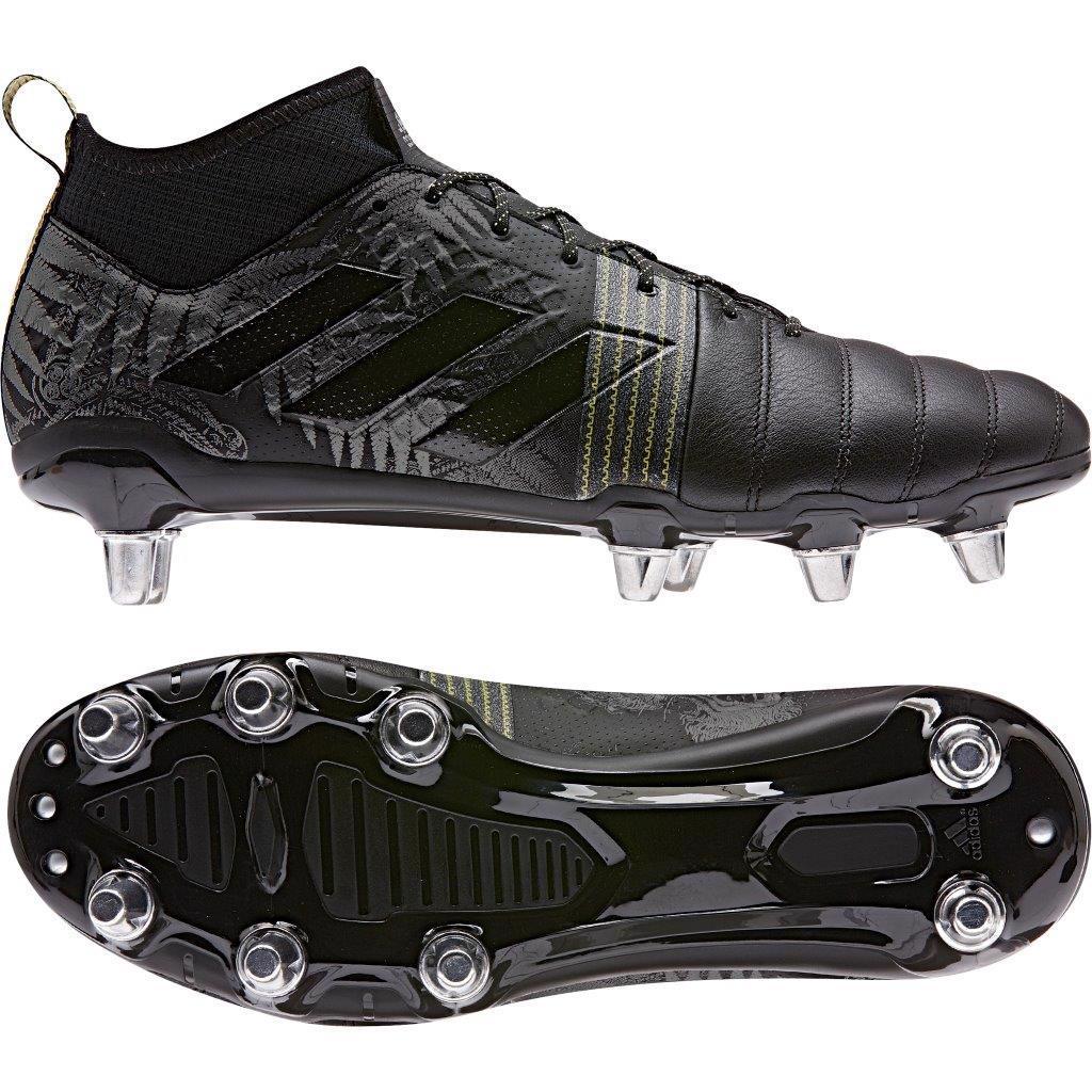 adidas KAKARI X Kevlar 2 SG Rugby Boots BLACK