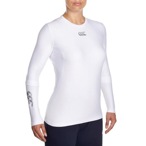 Canterbury Thermoreg WOMENS Baselayer L/S Top WHITE