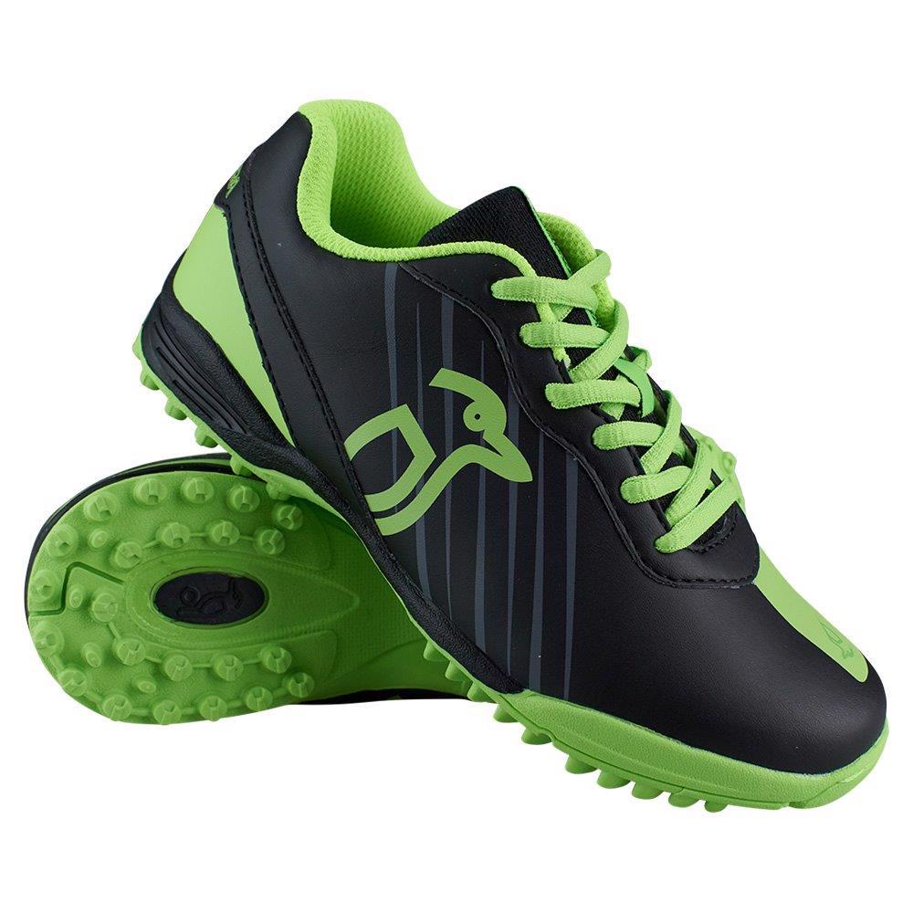 Kookaburra NEON Hockey Shoes BLACK, JUNIOR