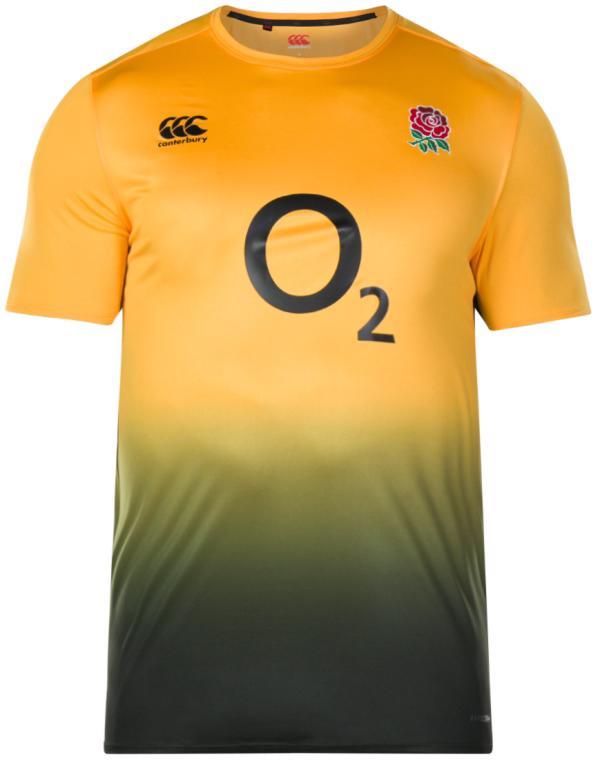 Canterbury England Rugby Vapodri Graphic Tee