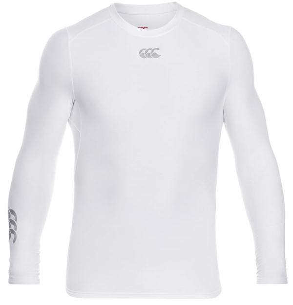 Canterbury Thermoreg Baselayer L/S Top WHITE