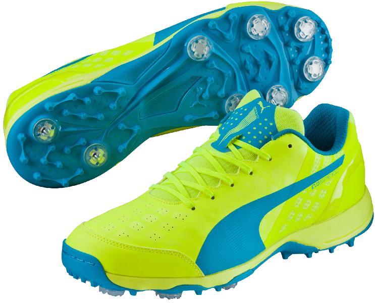 Puma evoSpeed 14 Cricket Shoes YELLOW