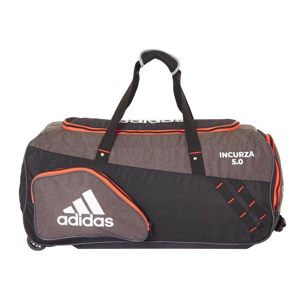 adidas INCURZA 5.0 Cricket Wheelie Bag JUNIOR