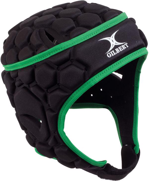 Gilbert Falcon 200 Rugby Headguard BLACK JUNIOR