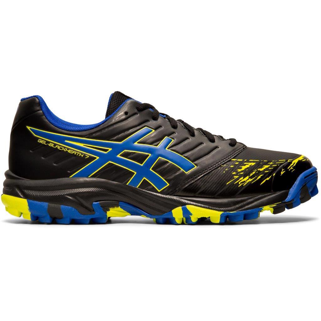 Asics GEL-Blackheath 7 MENS Hockey Shoes BLACK/ASICS BLUE
