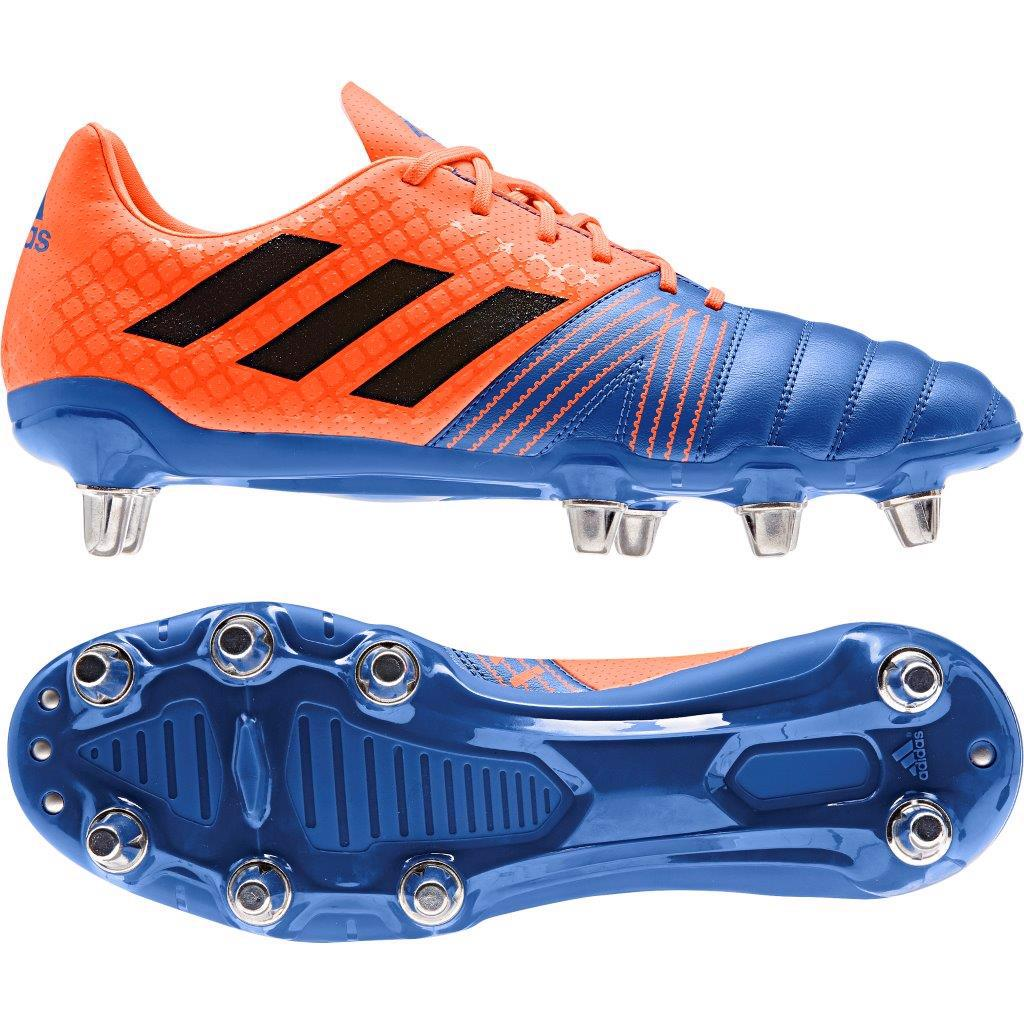adidas KAKARI SG Rugby Boots BLUE/ORANGE