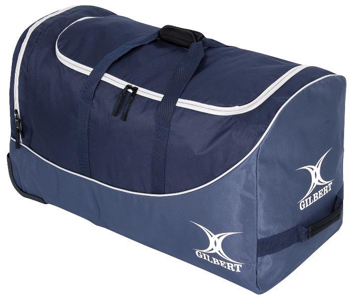 Gilbert Rugby Club V2 Wheeled Kit Bag