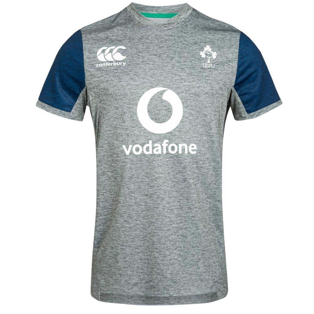 Canterbury Ireland Rugby Vapodri+ Drill Tee STATIC MARL