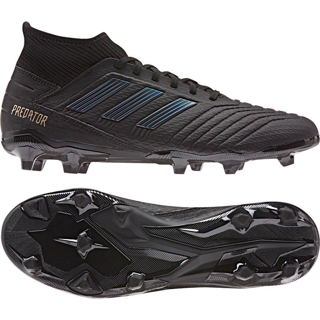 adidas PREDATOR 19.3 FG Football Boots BLACK