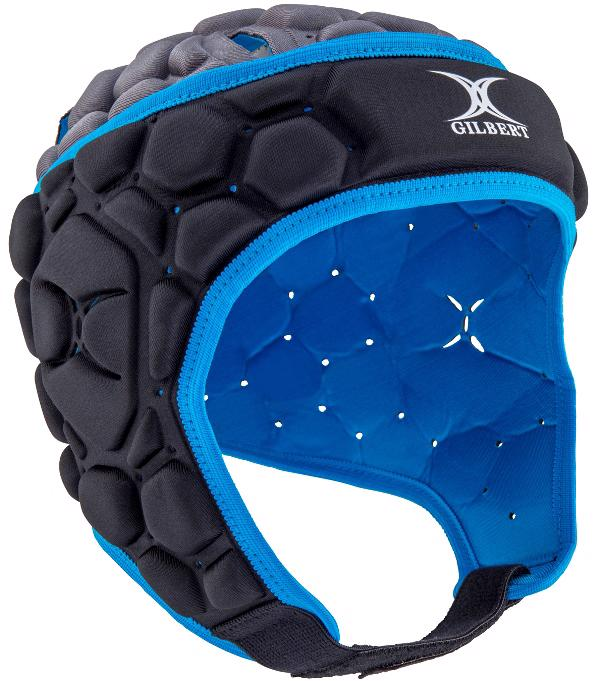 Gilbert Falcon 200 Rugby Headguard ELECTRIC BLUE, JUNIOR