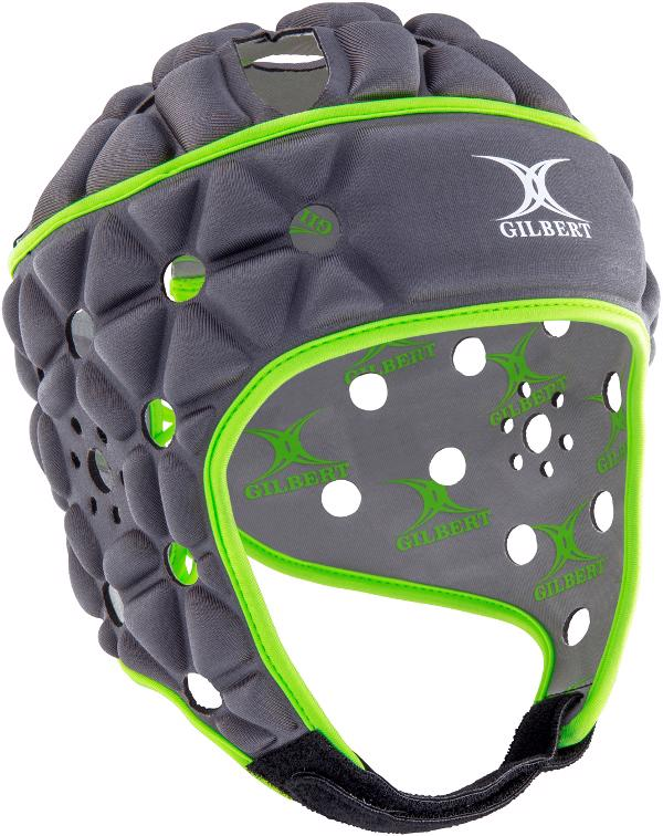 Gilbert Air Rugby Headguard METAL, JUNIOR