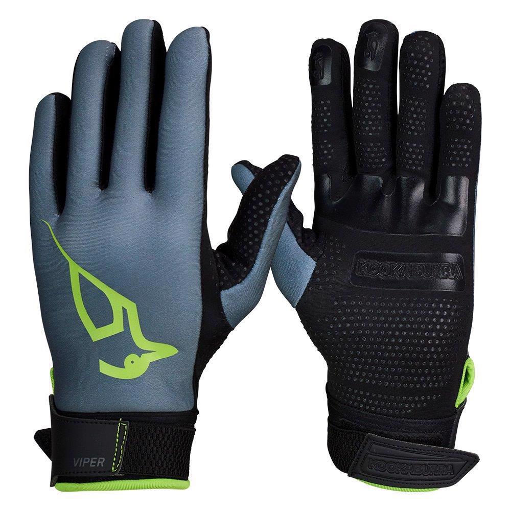 Kookaburra Viper Hockey Gloves GREY