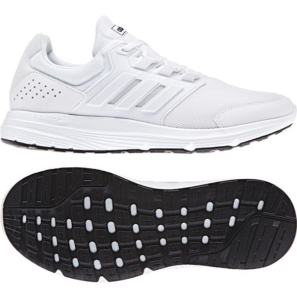 adidas Galaxy 4 Mens Running Shoes WHITE
