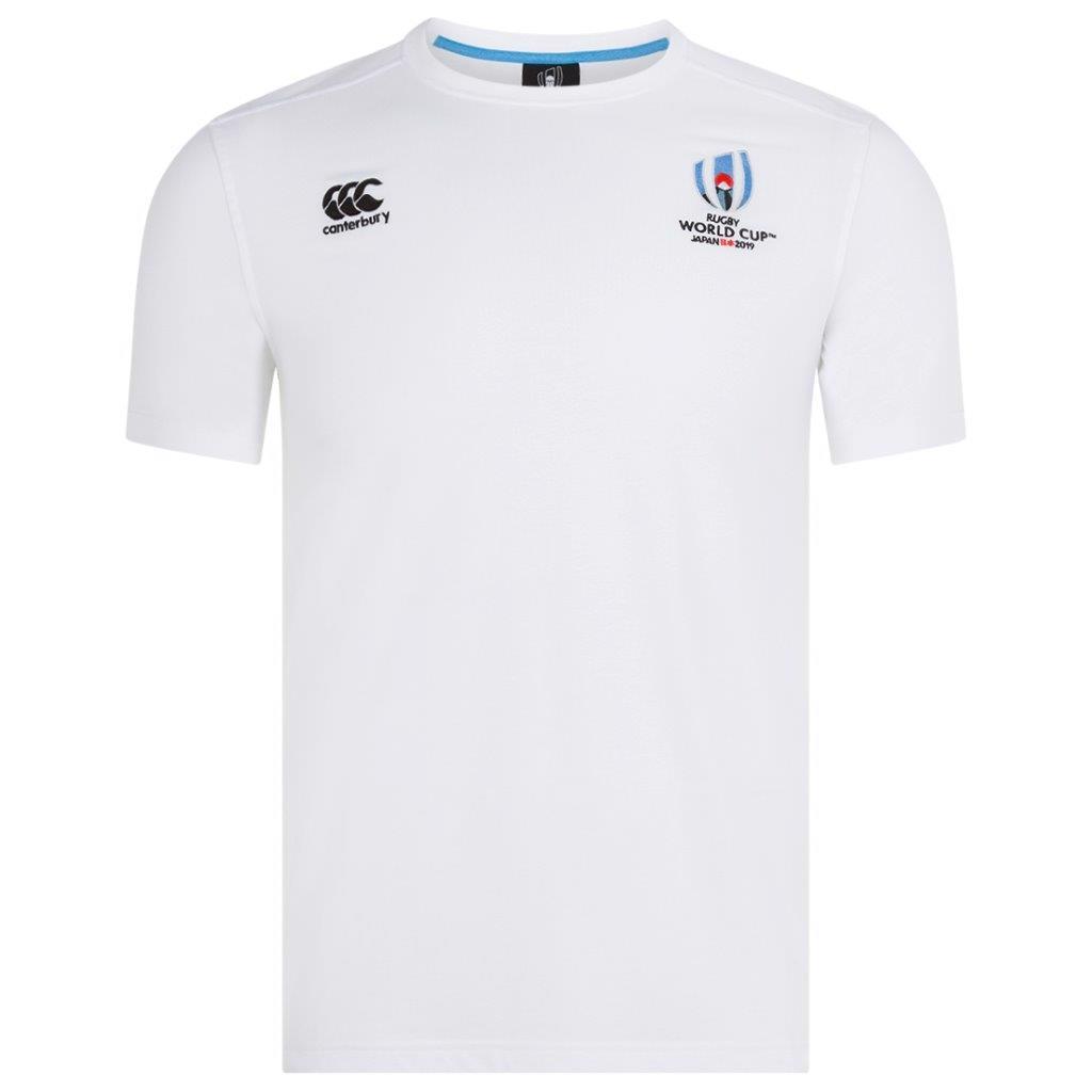 Canterbury RWC 2019 Cotton Jersey Tee WHITE