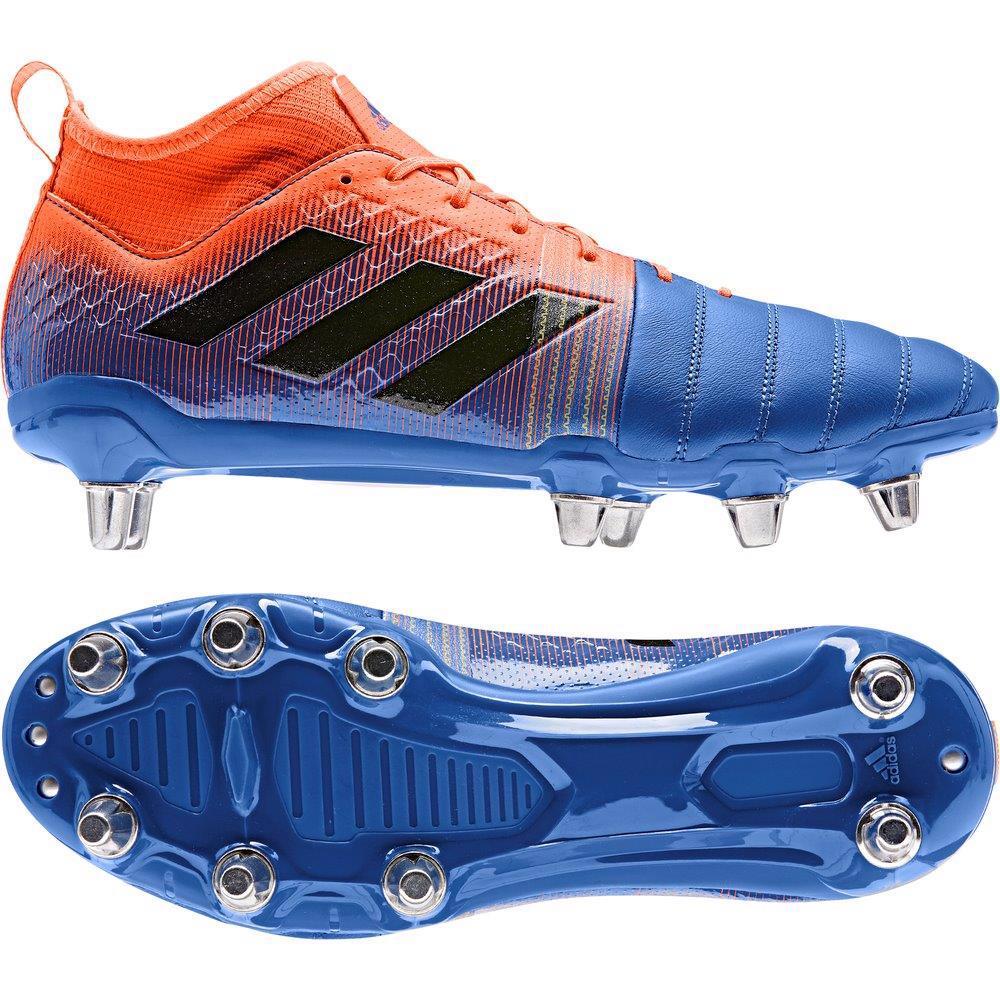 adidas KAKARI X Kevlar 2 SG Rugby Boots BLUE/ORANGE