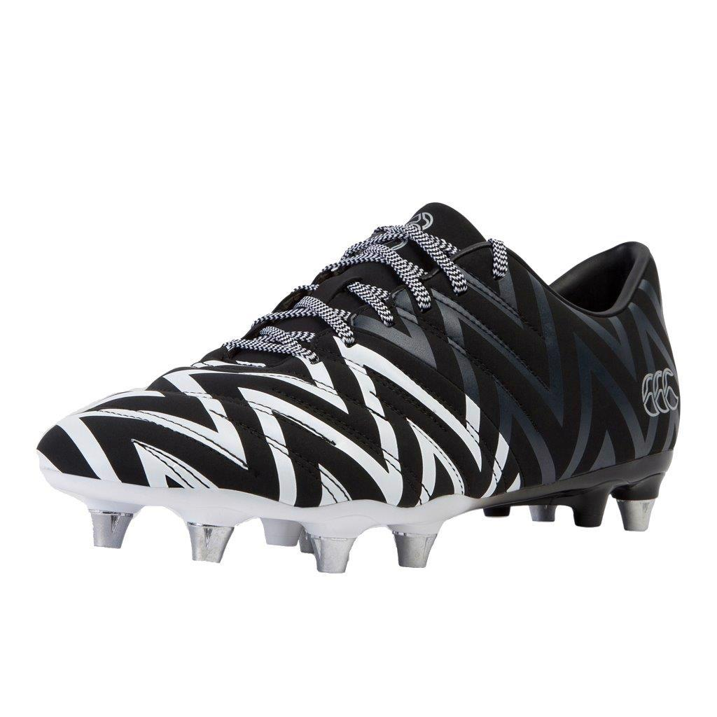 Canterbury Phoenix 2.0 SG Rugby Boots BLACK/WHITE