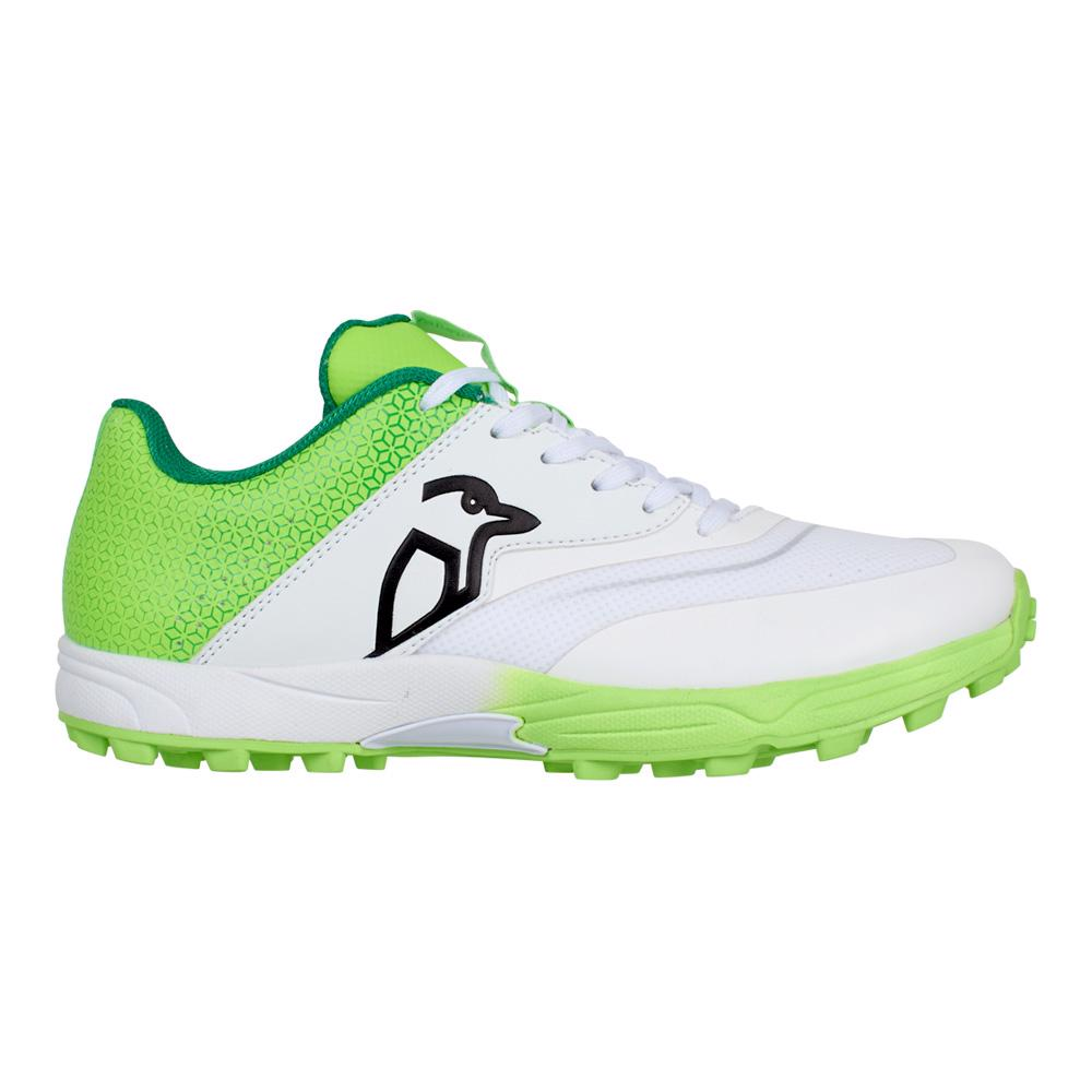 Kookaburra KC 2.0 Rubber Cricket Shoes LIME
