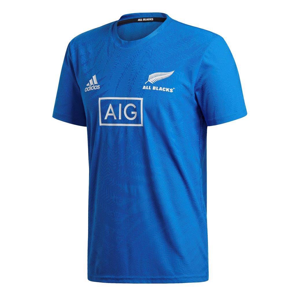 adidas All Blacks RWC2019 Y-3 Performance Tee BLUE