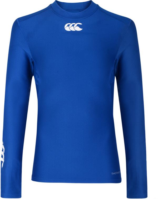 Canterbury Thermoreg Baselayer L/S Top BLUE JUNIOR