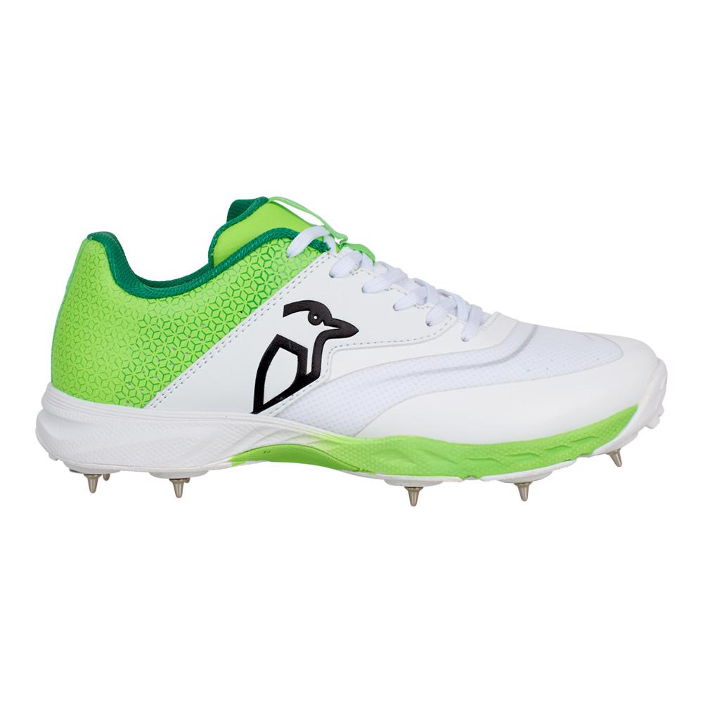 Kookaburra KC 2.0 Spike Cricket Shoe LIME
