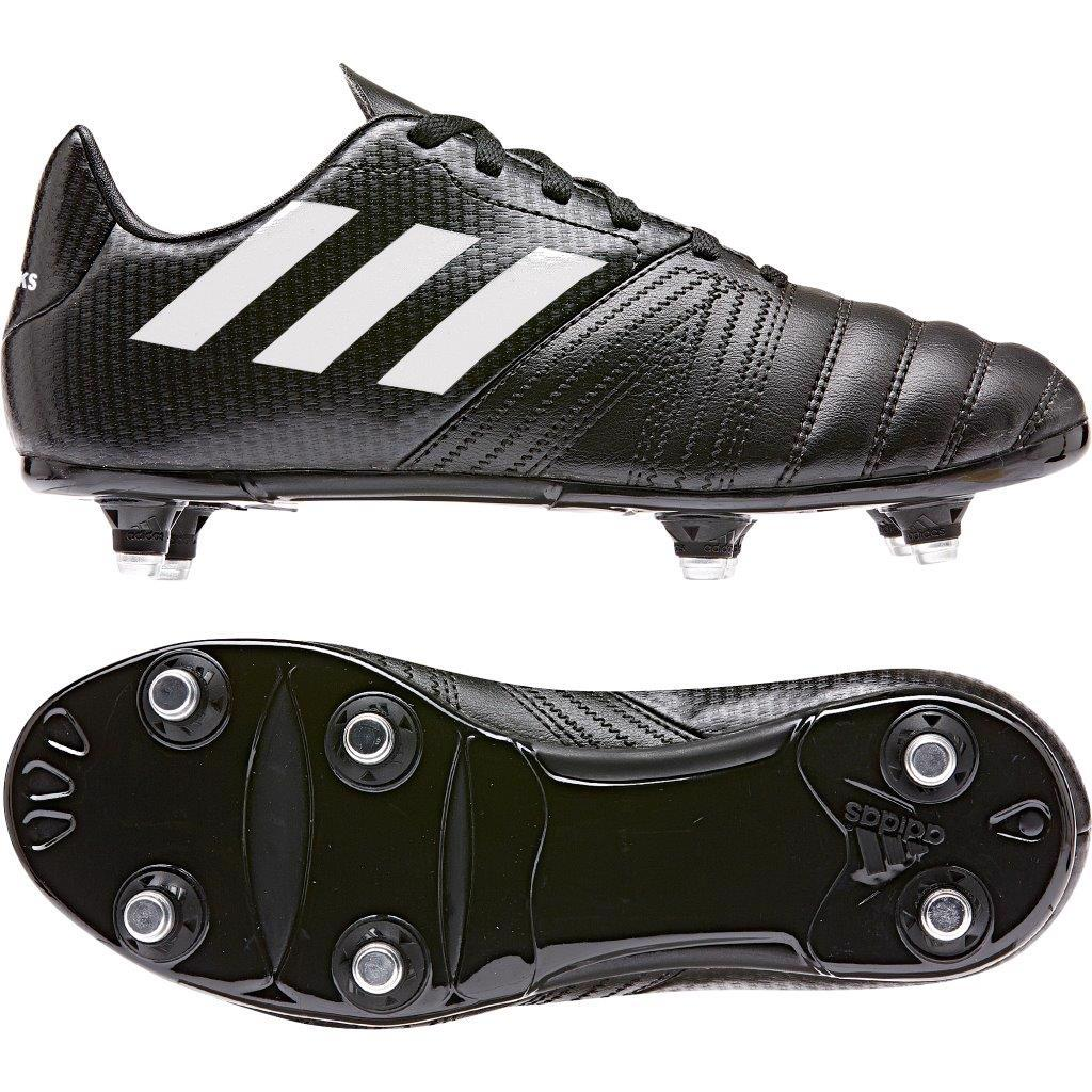 adidas ALL BLACKS SG Rugby Boots BLACK/WHITE, JUNIOR