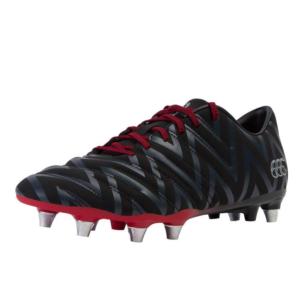 Canterbury Phoenix 2.0 SG Rugby Boots BLACK/RED