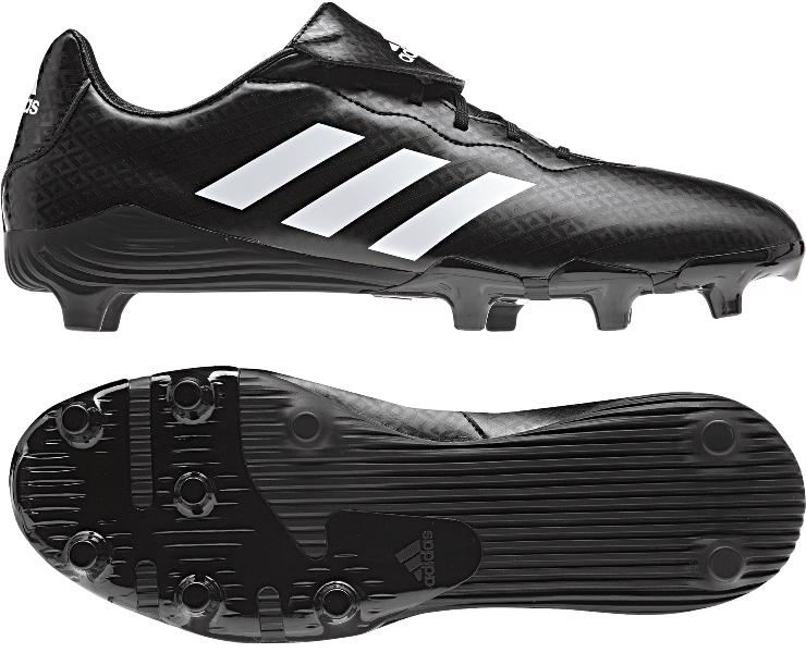 Adidas Rumble SG Rugby Boots BLACK
