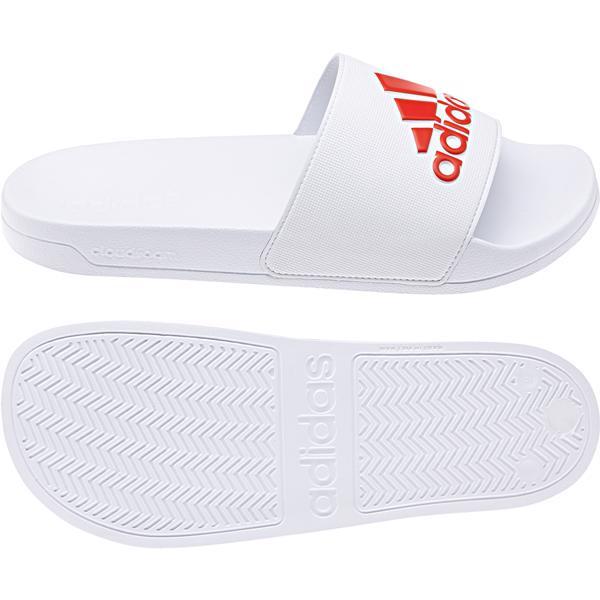 adidas Adilette Shower Slides WHITE