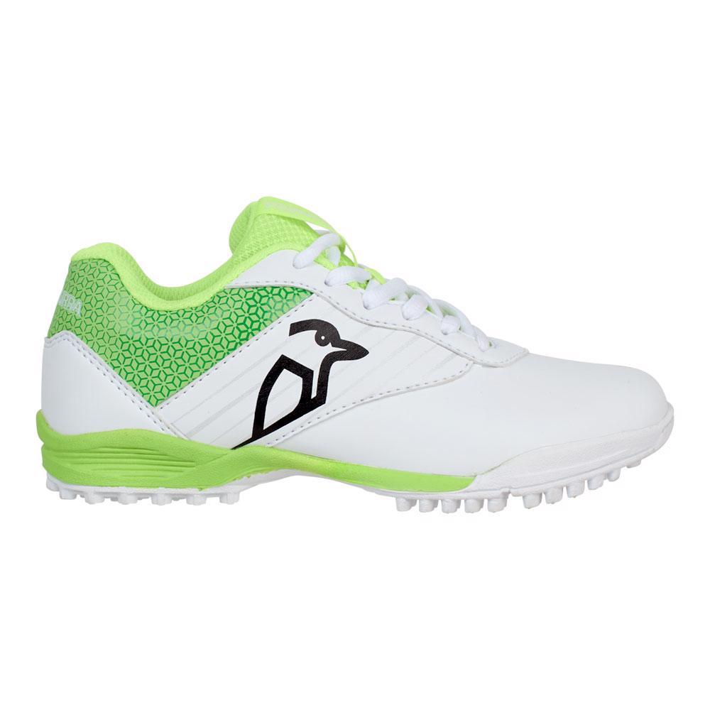 Kookaburra KC 5.0 Rubber Cricket Shoes LIME, JUNIOR