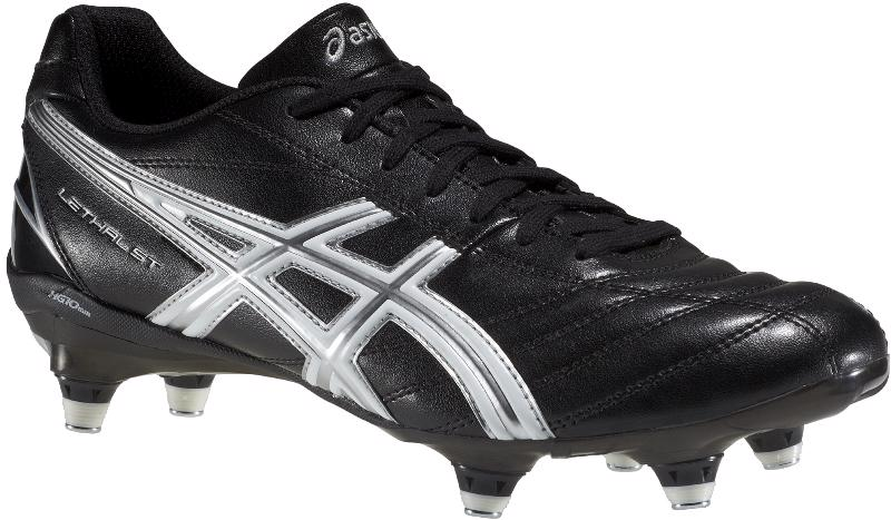 condón Oportuno robot  Asics Lethal ST Rugby Boots BLACK - CLEARANCE RUGBY BOOTS