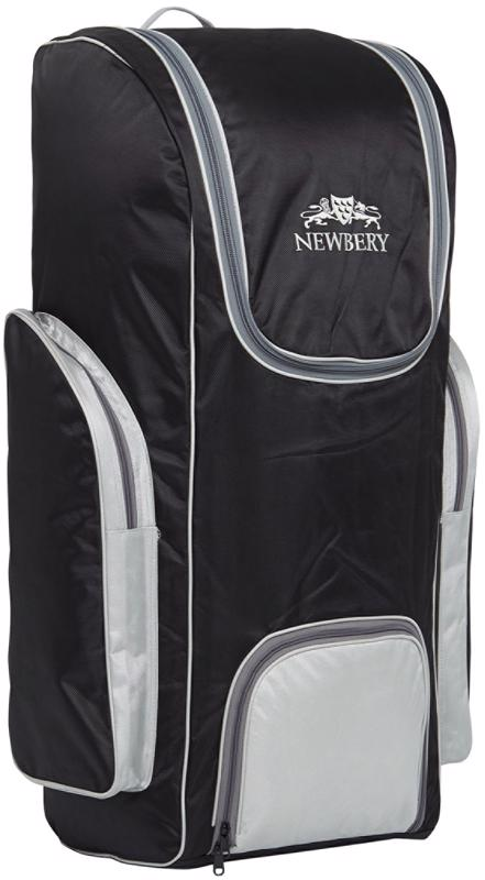 Newbery BIG Duffle Bag BLACK/SILVER