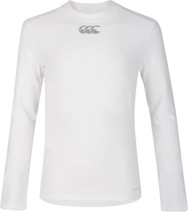 Canterbury Thermoreg Baselayer L/S Top WHITE JUNIOR