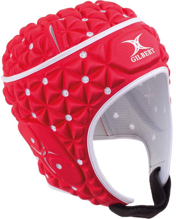 Gilbert Ignite Rugby Headguard RED