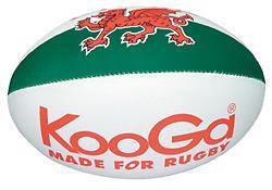 KooGa Wales Flag Ball