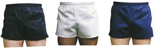 Elasticated rugby shorts,black 26